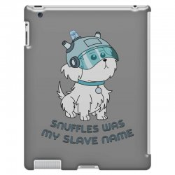 Snuffles Was My Slave Name iPad 3 and 4 Case | Artistshot
