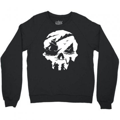 Sea Of Theives Skull Crewneck Sweatshirt
