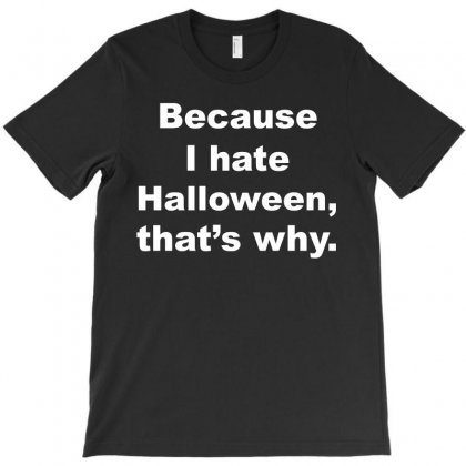 Hate Halloween T-shirt Designed By Ujang Atkinson