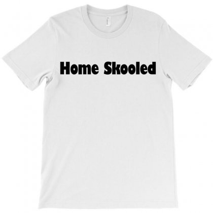 Home Skooled T-shirt Designed By Ujang Atkinson