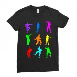 Fortnite Dance Ladies Fitted T-Shirt | Artistshot