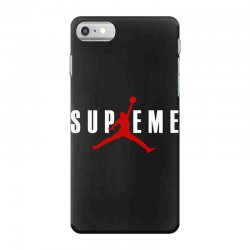 jordan x supreme white logo iPhone 7 Case | Artistshot