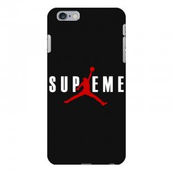 jordan x supreme white logo iPhone 6 Plus/6s Plus Case | Artistshot