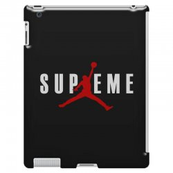 jordan x supreme white logo iPad 3 and 4 Case | Artistshot