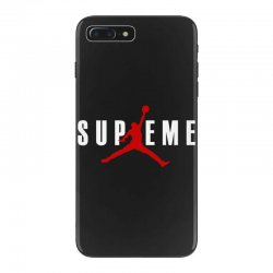 jordan x supreme white logo iPhone 7 Plus Case | Artistshot