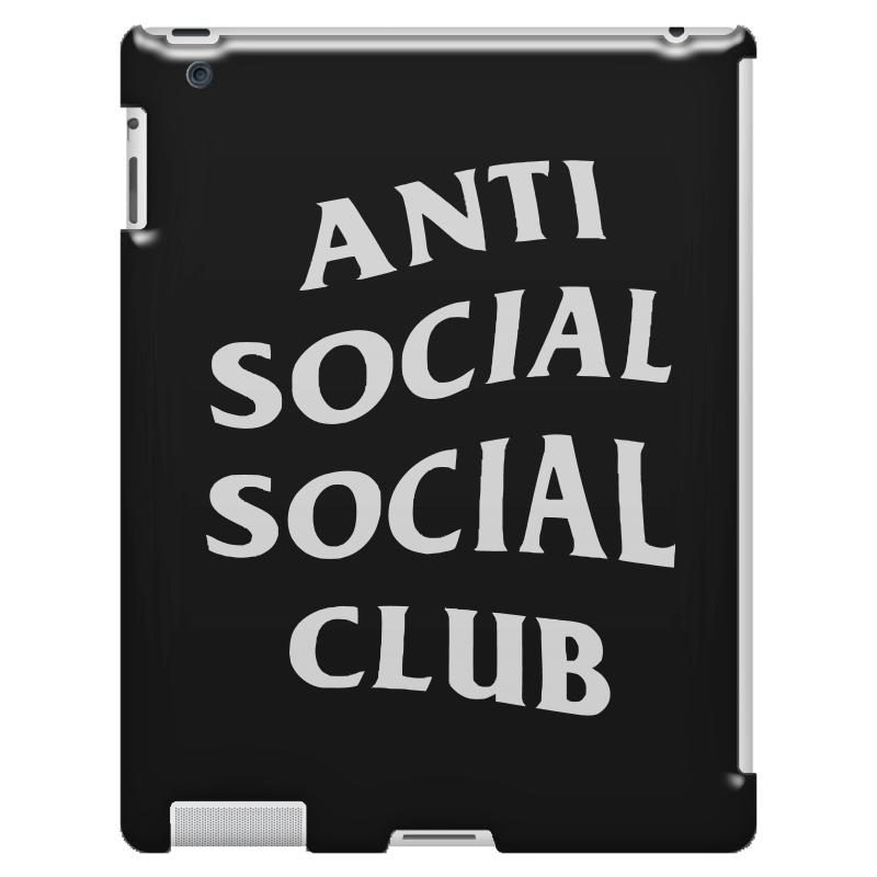 e4bfa8775052 Custom Anti Social Social Club White Logo Ipad 3 And 4 Case By Meza Design  - Artistshot