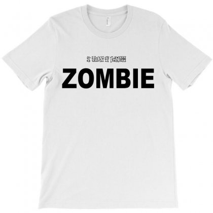 I Don't Like Zombie T-shirt Designed By Ujang Atkinson