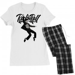 Elvis Presley Rock N Roll Women's Pajamas Set | Artistshot
