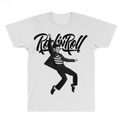 Elvis Presley Rock N Roll All Over Men's T-shirt | Artistshot