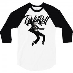 Elvis Presley Rock N Roll 3/4 Sleeve Shirt | Artistshot