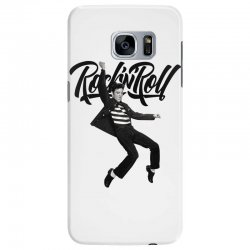 Elvis Presley Rock N Roll Samsung Galaxy S7 Edge Case | Artistshot