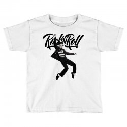 Elvis Presley Rock N Roll Toddler T-shirt | Artistshot