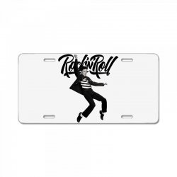 Elvis Presley Rock N Roll License Plate | Artistshot