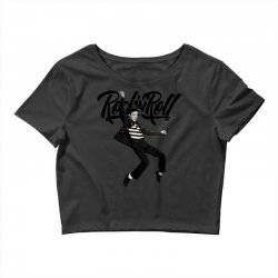 Elvis Presley Rock N Roll Crop Top | Artistshot