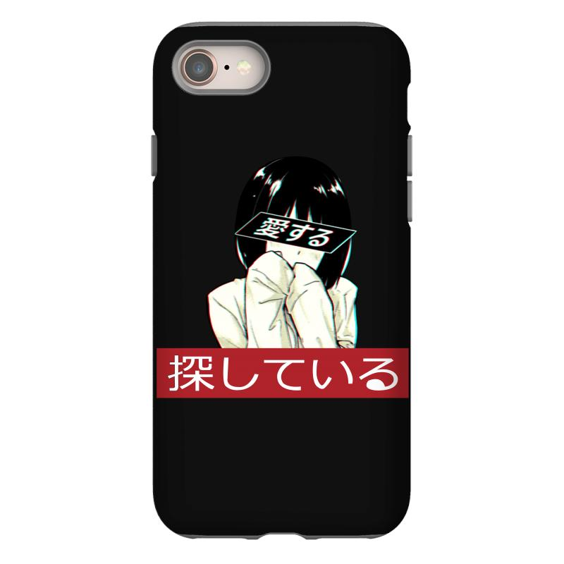 newest collection bc8d3 85e66 Sad Japanese Aesthetic Iphone 8 Case. By Artistshot