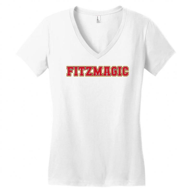 Fitzmagic Women's V-neck T-shirt | Artistshot
