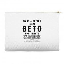 want a better texas black Accessory Pouches | Artistshot