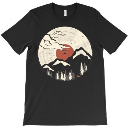 Mountain Wildlife T-shirt Designed By Yellow Star