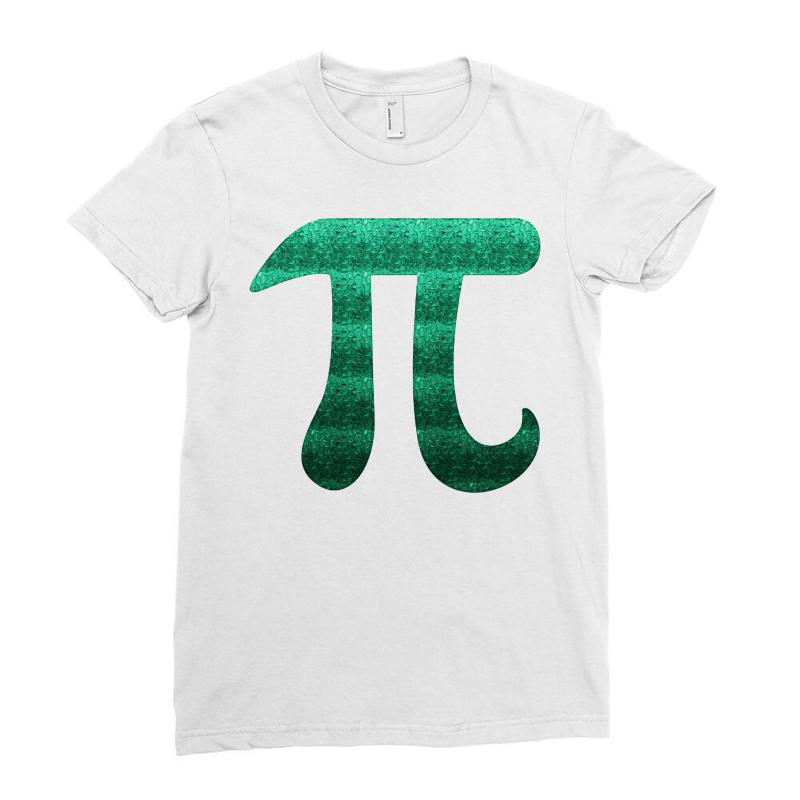 Pi Math Ladies Fitted T-shirt | Artistshot