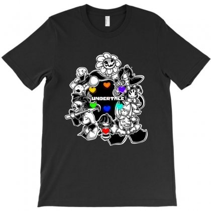 Undertale Flowey T-shirt Designed By Meza Design