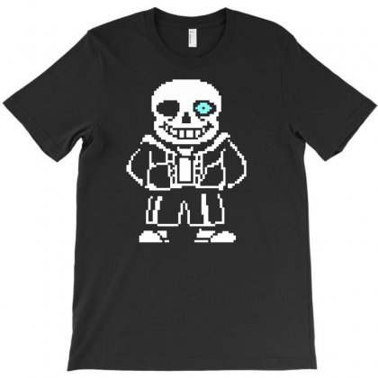Undertale Sans T-shirt Designed By Meza Design