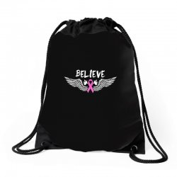 038704c75 Custom Angel Wing Believe Breast Cancer Tote Bags By Sengul - Artistshot