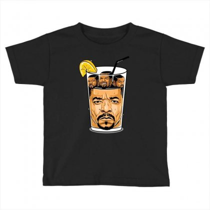 Ice T & Ice Cube Toddler T-shirt Designed By Meza Design
