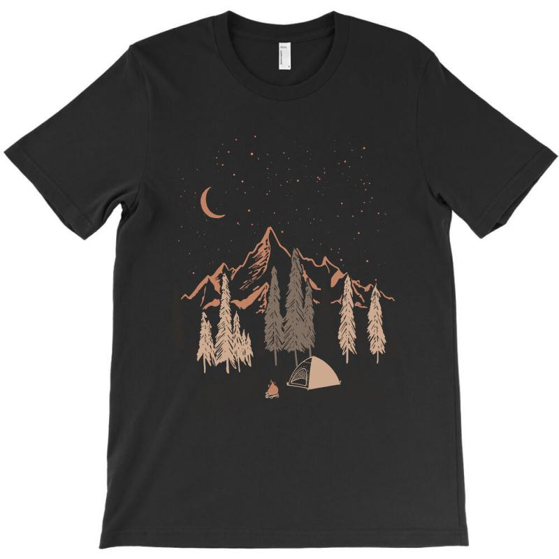 Night In The Forest T-shirt | Artistshot