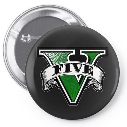 Gta 5 Pin-back Button Designed By Better