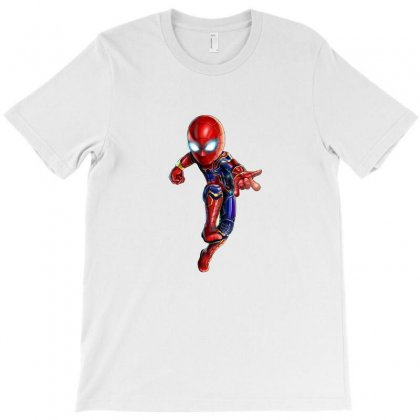 Iron Spidey T-shirt Designed By Thelitlerambo