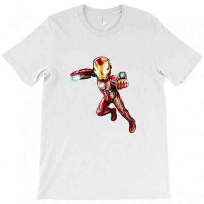 Iron Man Bleeding Edge T-shirt Designed By Thelitlerambo