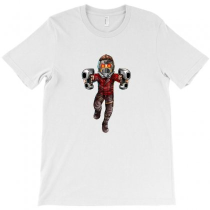 Star Lord T-shirt Designed By Thelitlerambo