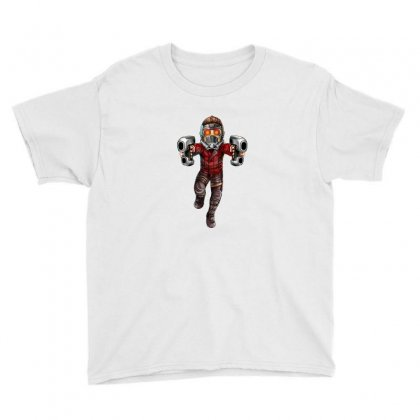 Star Lord Youth Tee Designed By Thelitlerambo
