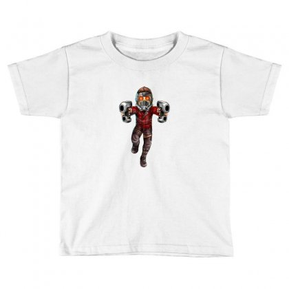Star Lord Toddler T-shirt Designed By Thelitlerambo