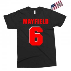 baker mayfield new jersey number Exclusive T-shirt | Artistshot