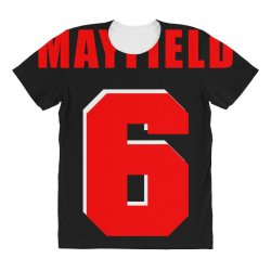 baker mayfield new jersey number All Over Women's T-shirt | Artistshot