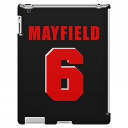 baker mayfield new jersey number iPad 3 and 4 Case | Artistshot