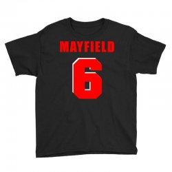 baker mayfield new jersey number Youth Tee | Artistshot