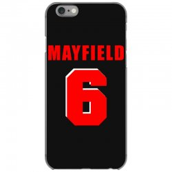 baker mayfield new jersey number iPhone 6/6s Case | Artistshot
