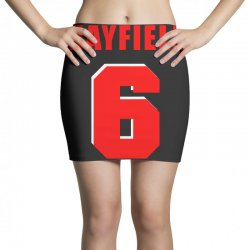 baker mayfield new jersey number Mini Skirts | Artistshot