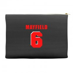 baker mayfield new jersey number Accessory Pouches | Artistshot
