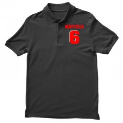 baker mayfield new jersey number Polo Shirt | Artistshot