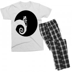 nightmare before christmas black logo Men's T-shirt Pajama Set | Artistshot