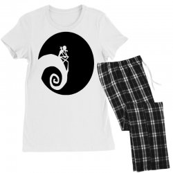 nightmare before christmas black logo Women's Pajamas Set | Artistshot