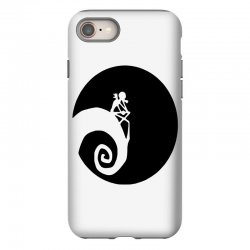 nightmare before christmas black logo iPhone 8 | Artistshot