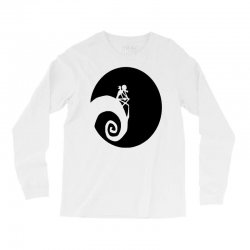 nightmare before christmas black logo Long Sleeve Shirts | Artistshot