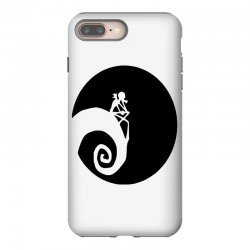 nightmare before christmas black logo iPhone 8 Plus | Artistshot