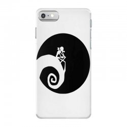 nightmare before christmas black logo iPhone 7 Case | Artistshot