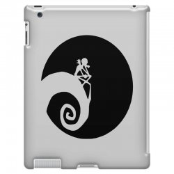 nightmare before christmas black logo iPad 3 and 4 Case | Artistshot