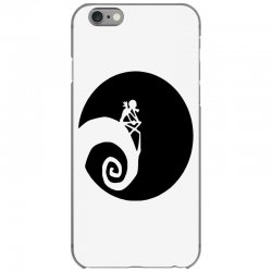 nightmare before christmas black logo iPhone 6/6s Case | Artistshot